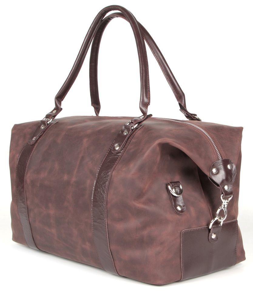003b8fffad96 Дорожная сумка из натуральной кожи SHVIGEL 00885 - Shvigel — бренд ...