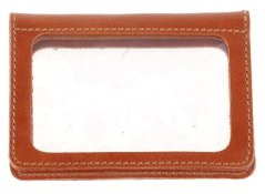 Genuine Leather Driver's License Holder - Brown - Shvigel 16080