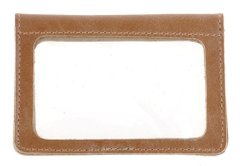 Genuine Leather Driver's License Holder - Light Brown - Shvigel 16081